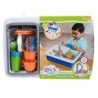 Spark Kitchen Sink Running Water 20 Pieces Kids Play Set NEW FASTEST SHIPPING