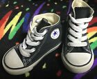Boys Converse All Star Sneakers Shoes Size 5 Infant Black White