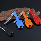 Fishing Outdoor Survival Pocket Bule Folding Blade Key Knife Mini Small Knife