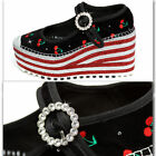 MARC JACOBS Platform JEWELED CHERRY SHOES with Box  Bag 405