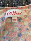 Cath Kidston pink multi floral tea dress with cap sleeves 12