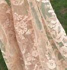 Stunning Vintage Old Antique Hand Made Net Lace Wedding