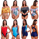 2018 Women One Piece Swimsuit Beachwear Swimwear Push up Monokini Bikini Bath AM