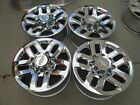 18 CHEVY GMC 2500HD OEM FACTORY WHEELS RIMS WITH CHROME CAPS