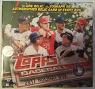 2017 Topps Baseball Holiday Factory Sealed Box 10 Packs 1 Relic or Autograph