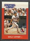 1988 Kenner Starting Lineup Baseball Card - Wally Joyner - California Angels