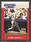 1988 Kenner Starting Lineup Baseball Card - Bobby Bonilla - Pittsburgh Pirates
