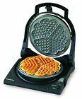 Electric Baking Waffle Iron Molder Maker Baker Nonstick 5 Heart Shaped Cooker
