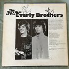 EVERLY BROTHERS AUTOGRAPHS PHIL  DON VERY BEST OF BYE BYE LOVE RECORD