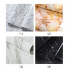 Marble Effect Contact Paper Film Self Adhesive Peel stick Decor Wall Covering