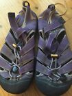 KEEN YOUTH US Sz 4 PURPLE WATERPROOF SANDALS