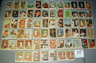1959 FLEER BASEBALL'S GREATEST TED WILLIAMS NEAR COMPLETE w 67 CARDS LOT#35