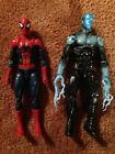 Marvel Legends Amazing Spider Man 2 and Electro Action Figures Complete Used