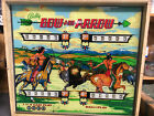 Bow and Arrow Vintage Pinball Machine Game 1970s Bally PRICE REDUCED