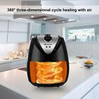 Hot 4.5L Non-stick Oil-Less Low Fat LCD Digital Touch Screen Electric Air Black
