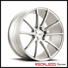 SAVINI 22 BM12 BRUSHED SILVER CONCAVE WHEELS RIMS FITS BENTLEY CONTINENTAL GT