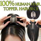 Straight Silk Base Virgin Human Hair Topper Hairpiece Mono Toupee Free Part P810