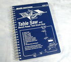 SEARS CRAFTSMAN Table Saw and Bench Power Tool Know How (1993, Spiral Bound)