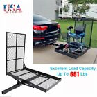 Folding Strong Electric Wheelchair Hitch Carrier Mobility Scooter Loading Ramp S