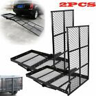660LB Power Wheelchair Scooter Mobility Carrier w Loading Ramp Heavy Duty Steel