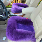 Us Stock Universal Wool Soft Warm Fuzzy Auto Car Seat Covers Front Cover Cushion