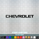 Chevrolet Vinyl Decal - Sticker Race Car Window Drag Gm Chevy Camaro 027