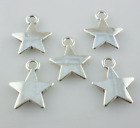 80 700pcs Tibetan silver Jewelry Making Star Charms Pendant Beads 1013mm