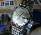 Vintage 1950s LACO ARTIME Standard Time 17 Jewels Day Date Mens Watch Germany