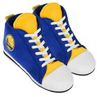 Golden State Warriors High Top Sneaker SLIPPERS New FREE USA SHIPPING