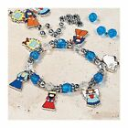 Metal Nativity Charm Bracelet Craft Kit Makes 12