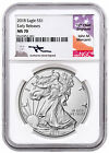2018 American Silver Eagle NGC MS70 ER Mercanti Signed Label SKU51241