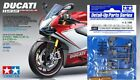 Tamiya 1:12 Ducati 1199 Panigale S Tricholore + detail up parts front fork set �