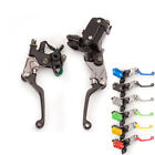 For Suzuki RM125/250 250SB RMX250S KFX40 Brake Master Cylinder Reservoir Levers