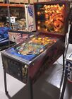 Freefall By Stern Pinball Machine Original Coin Operated Rare 1 Of 1300