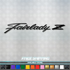 Fairlady Z Script Vinyl Decal Sticker - Jdm Car Window 370z 350z 300zx 240z S30