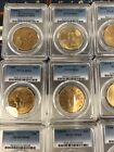 1927 MS65 Collection Of 20 $20 Saint Gaudens MS63 PCGS Double Eagle Gold Coin