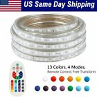 LED Strip Light RGB Flexible Rope 13 Color Changing Lightening IR Remote Control