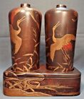 Late Edo Early Meiji Period Japanese Lacquer Saki Picnic Set