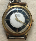 Vintage Men's Junghans Trilastic Watch Movement Parts/Repair 17 Jewels German
