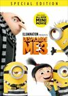 Despicable Me 3 DVD 2017 Sealed New comes with Slipcover Free shipping