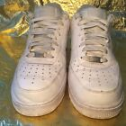 Nike Air Force 1 Sneakers Low Mens White Size 115