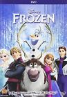 DVD Frozen DVD NEW 2014 Animated Kids Family Adventure FAST SHIPPING