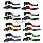 For KYMCO XCITING 250/300/500/400 CNC Fold&Extend Clutch Brake Levers Aluminum