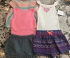 NWT 5pc BABY GIRL CARTERS CLOTHING LOT 6M