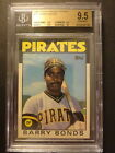 1986 Topps Traded Tiffany Barry Bonds RC True Gem MINT All Subs BGS 9.5 or 10