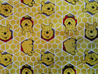 3 YARDS NEW Disney Winnie The Pooh HONEYCOMB Fabric CP51226 Free Shipping