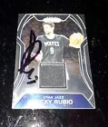 2017-18 Ricky Rubio Panini Prizm Patch In Person Autograph Signed Utah Jazz