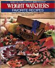 Weight Watchers Favorite Recipes 1986 Hardcover