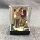 Earth Home Red Wolf Endangered Figurine in Case EH 808 with Panoramic Background