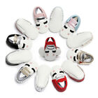 US Soft Sole Leather Shoes Baby Toddler Infant Boy Girl Tassel Moccasin